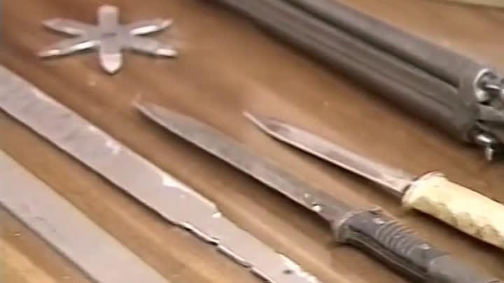 Оружие Владимира Муханкина