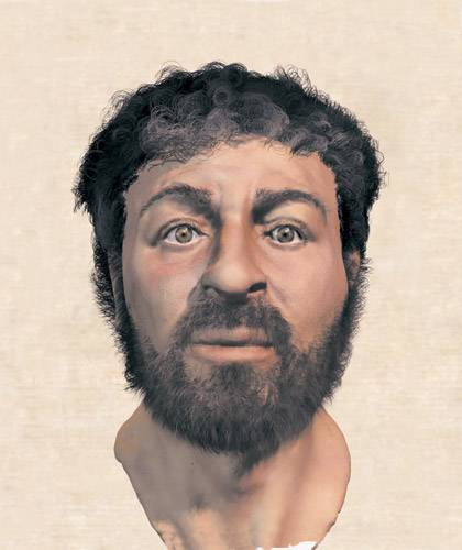 Предполагаемая внешность Иисуса Христа по версии британского эксперта Ричарда Нива
