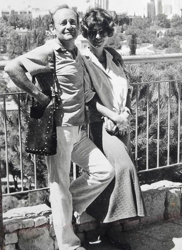Станислав с женой Еленой Генделевой-Куриловой