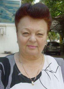 Возможная внучка Нестора Махно Людмила Заславская