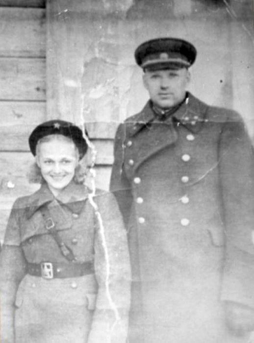 Константин Рокоссовский и Галина Таланова