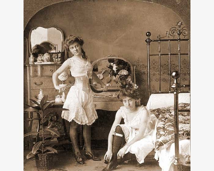 Проститутки в начале ХХ века