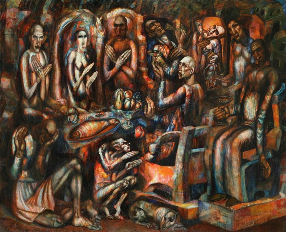Картина Н. Филонова «Пир королей»