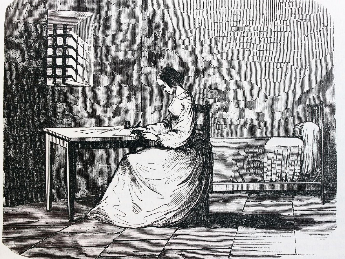 Мари в тюрьме