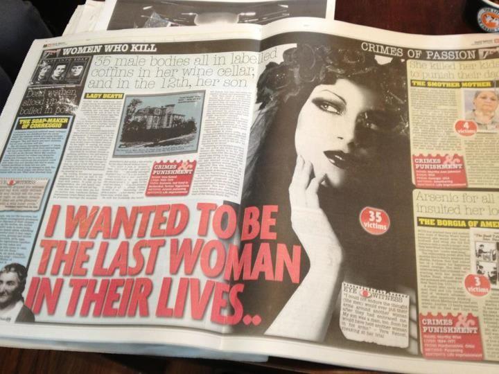 Та самая газета с фейковой фотографией Веры Ренци