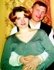 Андрей Мещеряков со своей девушкой