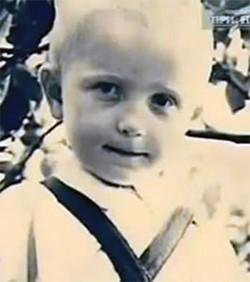Анатолий Оноприенко в трехлетнем возрасте