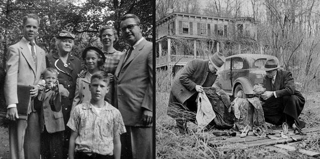 Френсис Макдоннел с семьей и поиски его останков