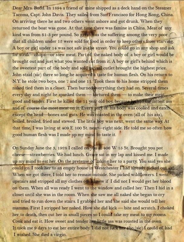Письмо Альберта Фиша