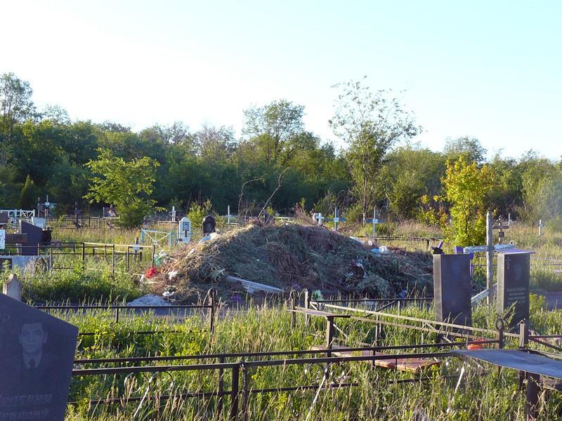 Центральное кладбище г. Шахты