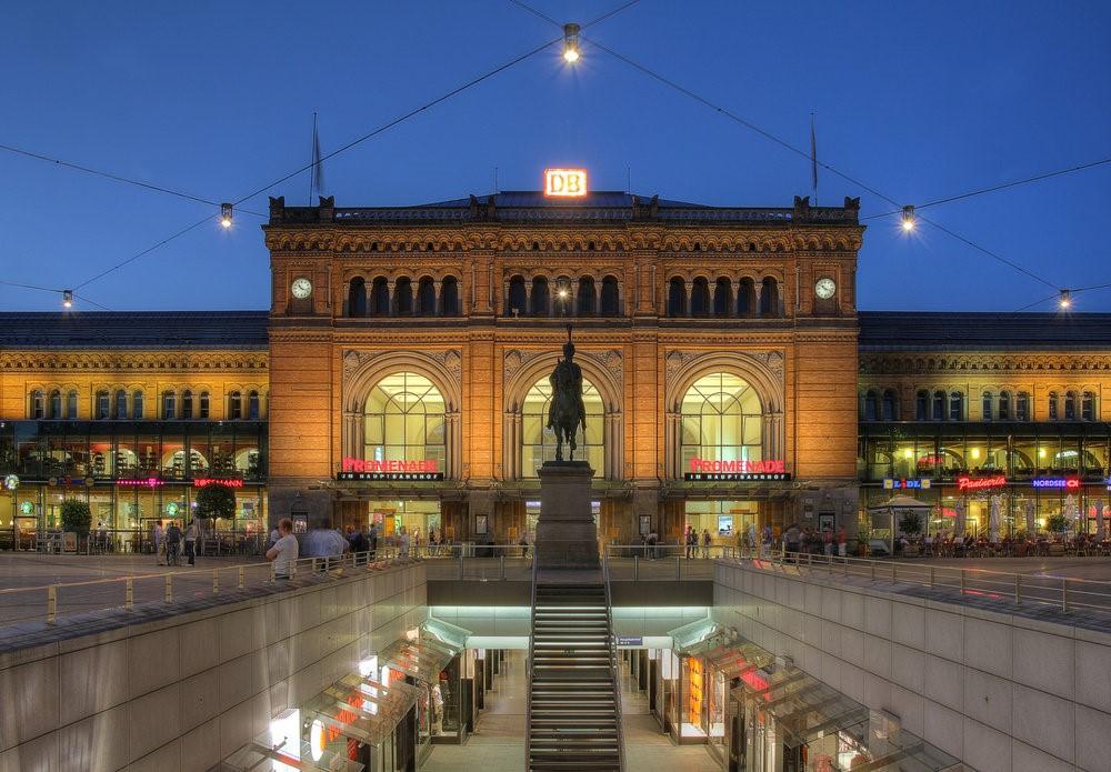 Центральный вокзал Ганновера – здесь Фриц Хаарман присматривал своих жертв