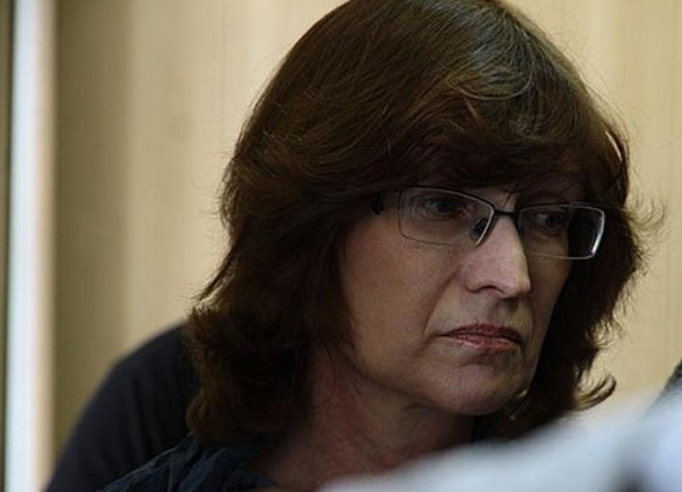 Нина Ануфриева на суде