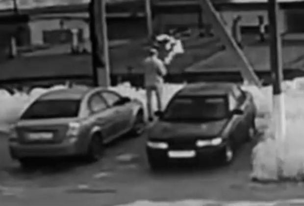 Снимок с камер видеонаблюдения