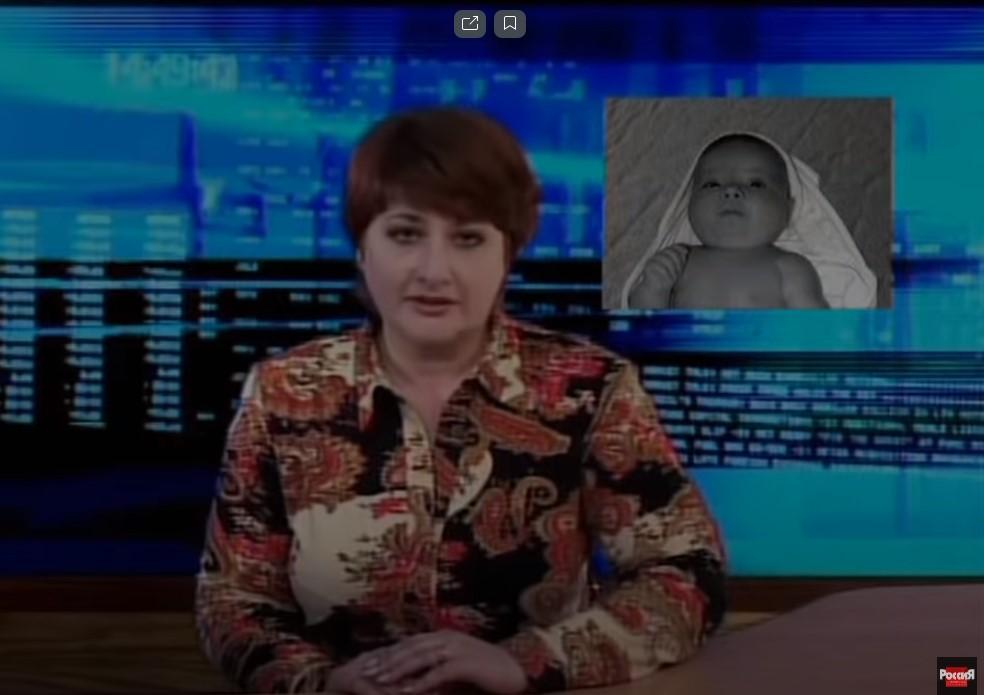 Второй сын Виктора Мохова и Лены, показанный в новостях