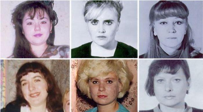Фотографии жертв маньяка