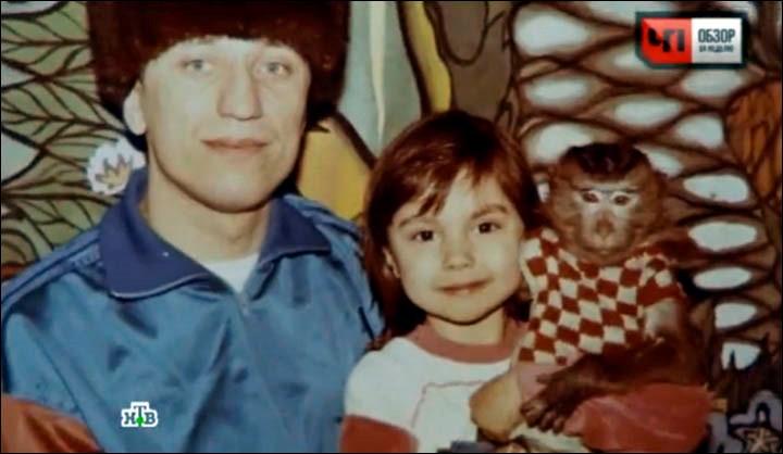 Михаил Попков с дочерью