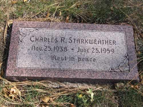 Могила Чарльза Старквезера