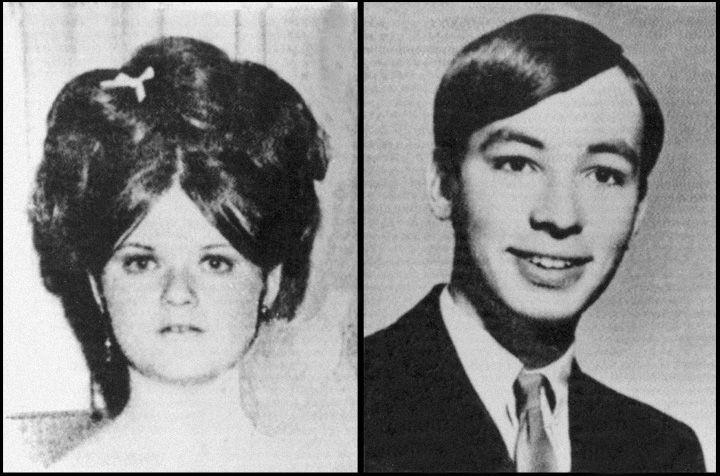 Погибшие Бетти и Дэвид